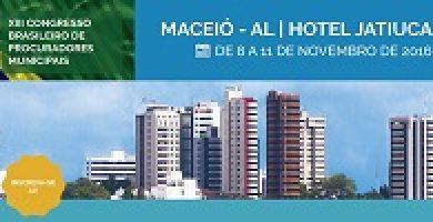 XIII Congresso Brasileiro de Procuradores Municipais abre votação para moderadores