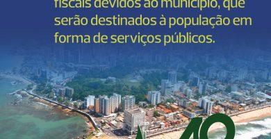 Recuperação dos créditos tributários devidos ao município são foco de atuação dos procuradores fiscais