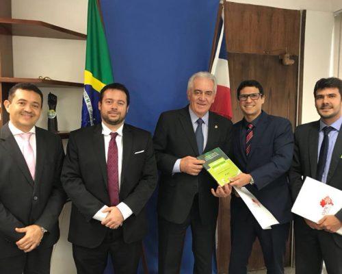 Presidente da APMS cumpre agenda em Brasília