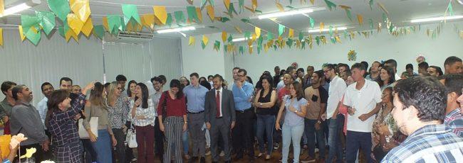 Diversão, comidas típicas e muita música marcam festa junina da APMS/PGM