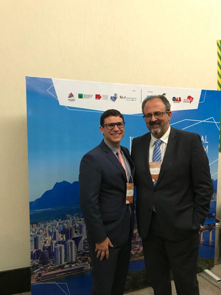 Eduardo Hassan e Carlos Mourão (presidente da ANPM)
