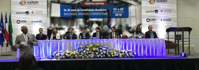 Congresso discute 30 anos da Constituição Brasileira