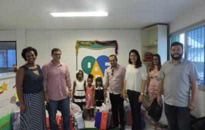 Campanha de doações à OAF