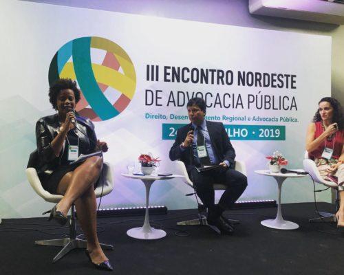 Procuradores do município são debatedores no III Encontro Nordeste de Advocacia Pública