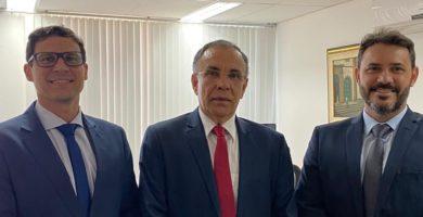APMS faz visita de cortesia ao novo presidente do TJ/BA