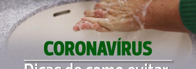 Informe Coronavírus – Dicas e prevenção