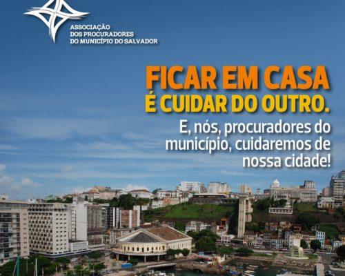 APMS adere campanha nacional e espontânea que chama a atenção para o papel do procurador nas cidades em época de combate ao coronavírus