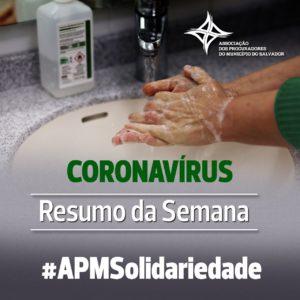 resumo da semana coronavírus