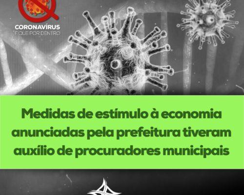 Medidas de estímulo à economia anunciadas pela prefeitura tiveram auxílio de procuradores municipais