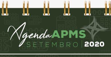 APMS divulga programação de eventos digitais em setembro