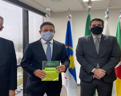 Vice-presidente da APMS cumpre agenda em Brasília