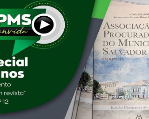 Edição especial da live APMS Convida marca 44 anos de fundação da entidade e lançamento de revista jurídica